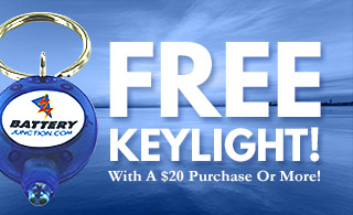 free keylights over $20 banner